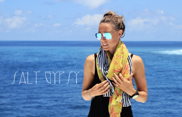 Salt Gypsy travel wraps for apres surf style