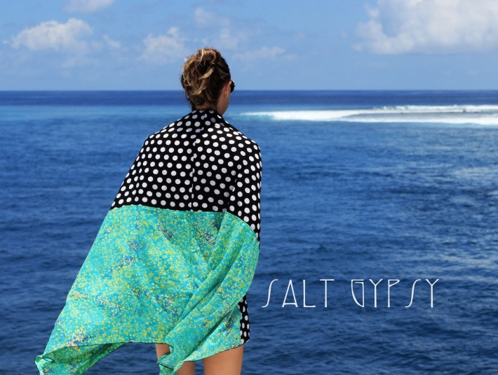 Salt Gypsy travel wraps for apres surf