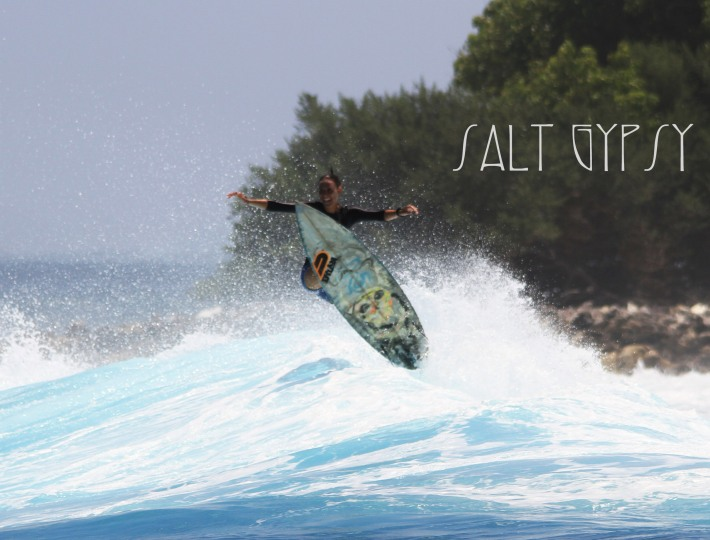 Rue Stiic x Salt Gypsy female surfwear collaboration
