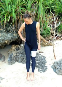 Rue Stiic x Salt Gypsy Ivory Dreamland surf leggings