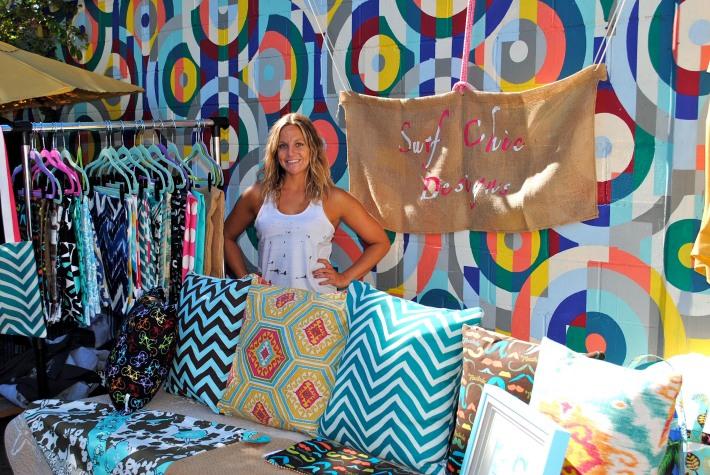 Rachel Bobis of Surf Chic Designs