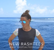 New Salt Gypsy women`s capsleeve rashguards