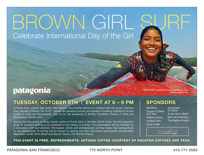 Surfing Possibility: Stories of India and Bangladesh`s Surfer Girls film screening San Francisco