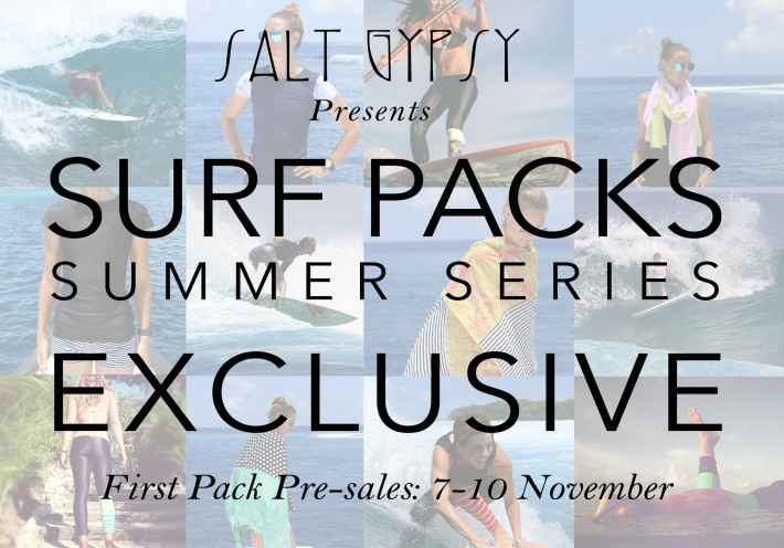 Salt Gypsy Surf Pack Summer Series 2014